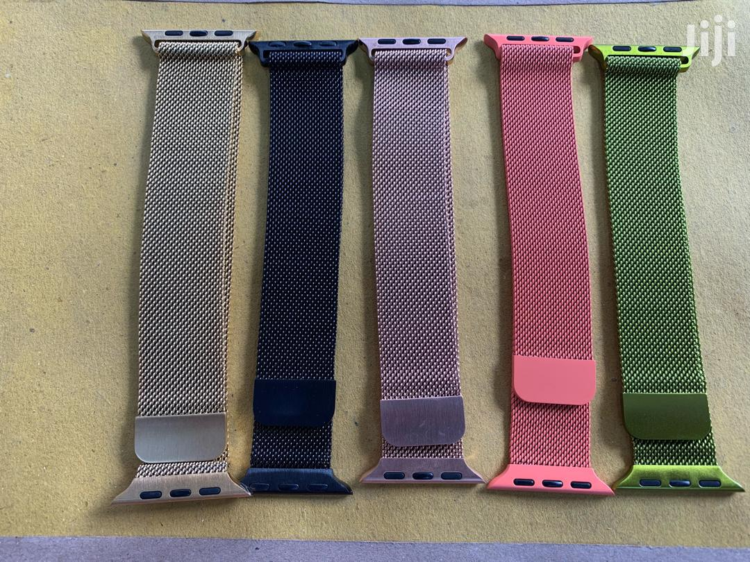 Band For Apple Watch - Stainless Steel   Smart Watches & Trackers for sale in Ilala, Dar es Salaam, Tanzania