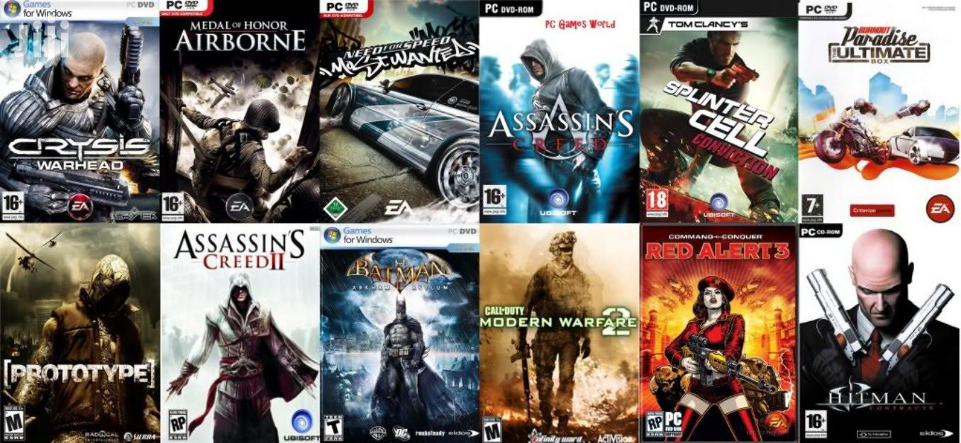Nauza Games Za PC | Video Games for sale in Ilala, Dar es Salaam, Tanzania