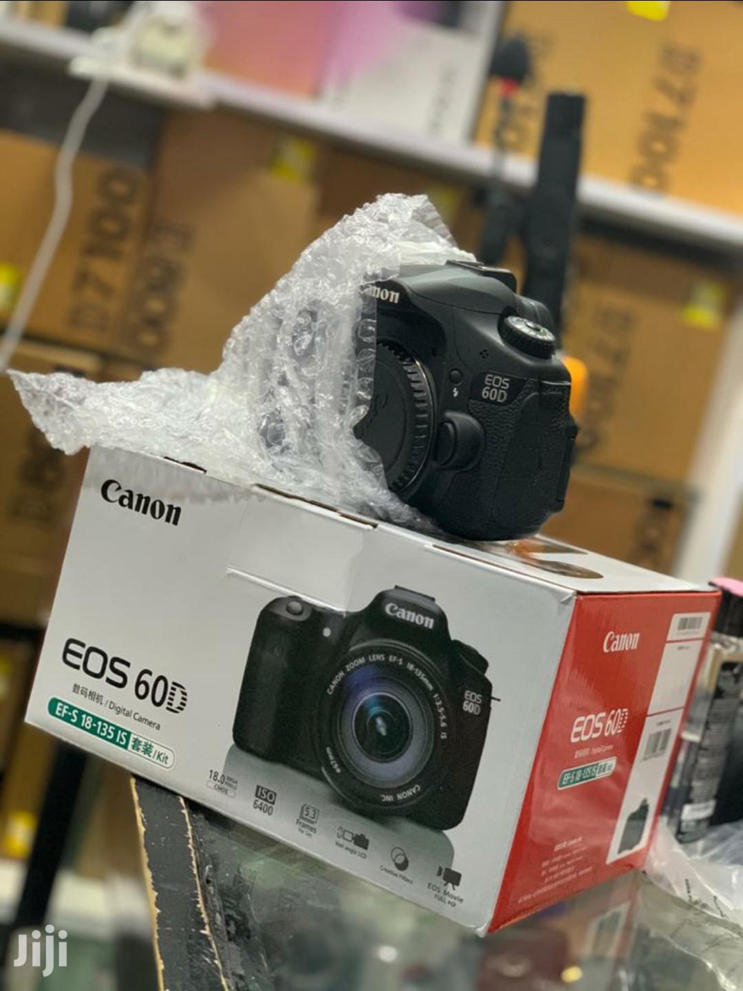 Canon 60D Camera With Free Lens 18~55
