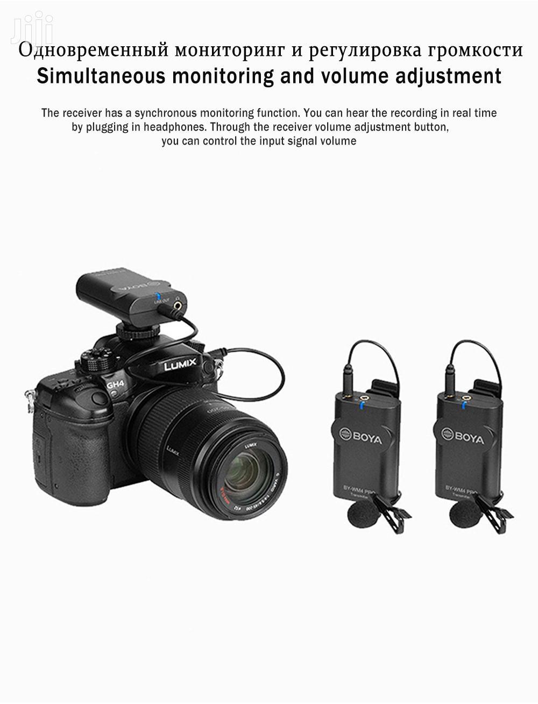Archive: BOYA BY-WM4 Pro K2 Dual Channel 2.4G Wireless Lavalier Mic