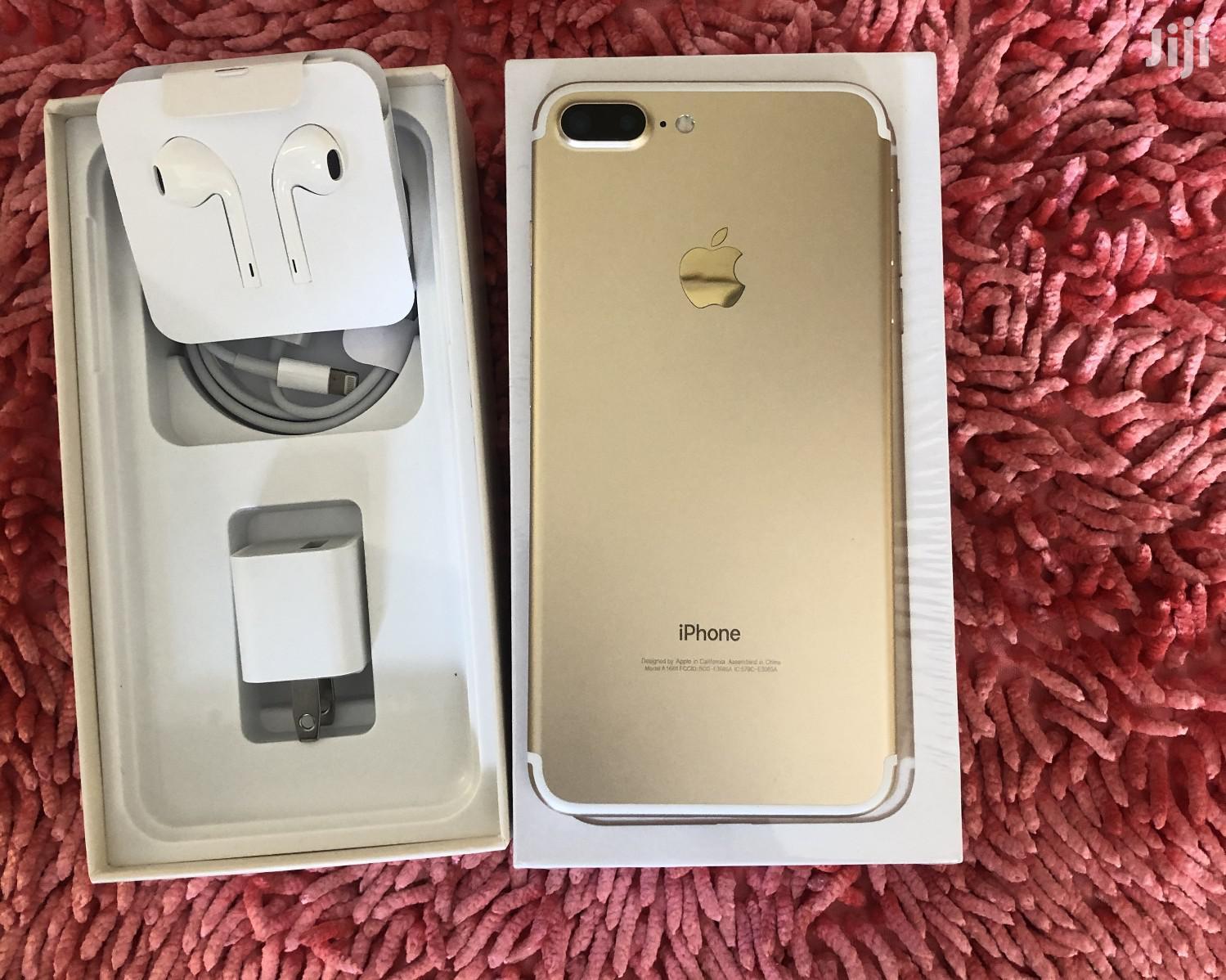 New Apple iPhone 7 Plus 32 GB Gold | Mobile Phones for sale in Kinondoni, Dar es Salaam, Tanzania