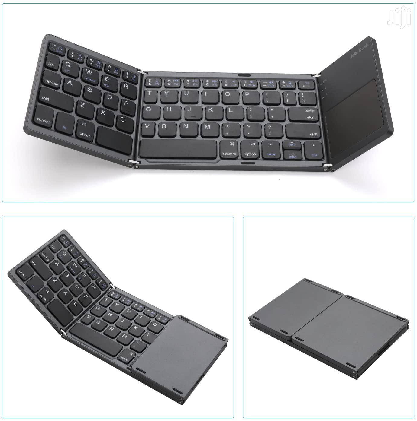 Foldable Bluetooth Keyboard With Touchpad - B033