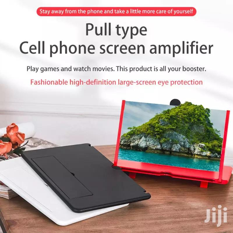 3D 12 Inch Folding Cell Phone Screen Magnifier | Accessories for Mobile Phones & Tablets for sale in Kinondoni, Dar es Salaam, Tanzania