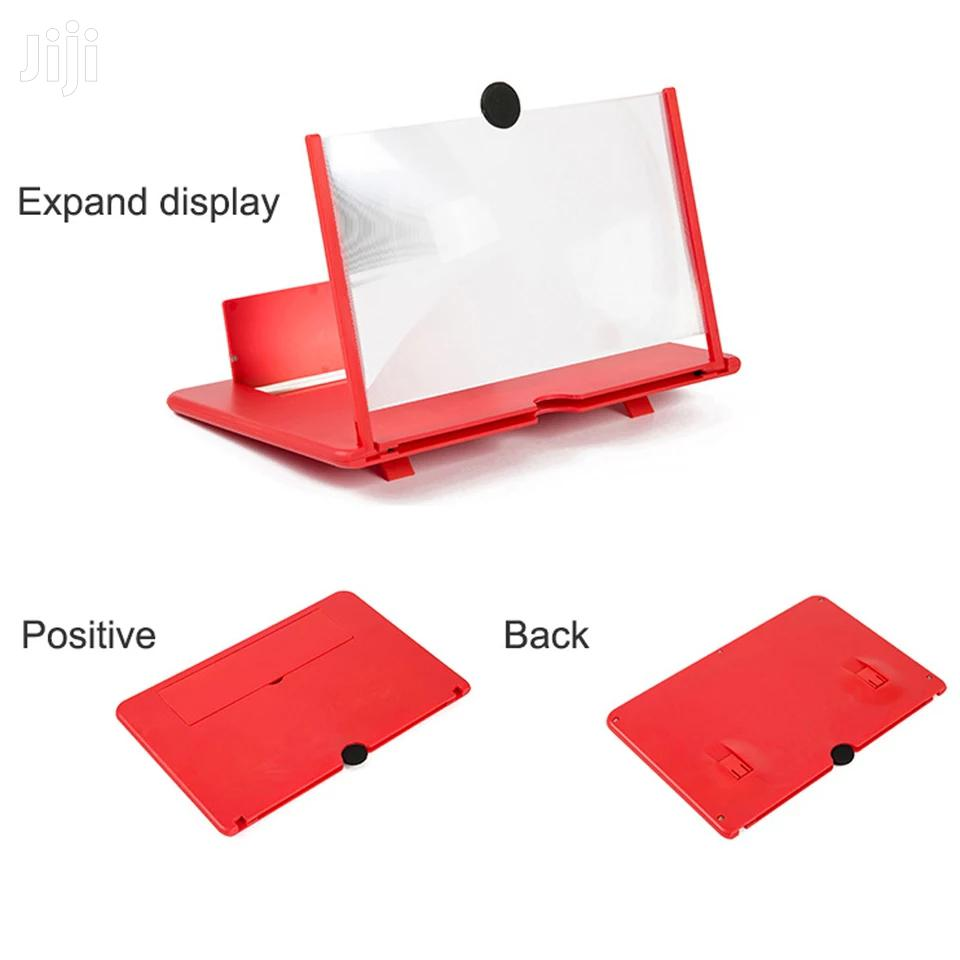 3D 12 Inch Folding Cell Phone Screen Magnifier