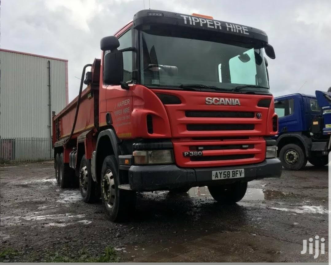 This Is Scania Tipper Used From Uk