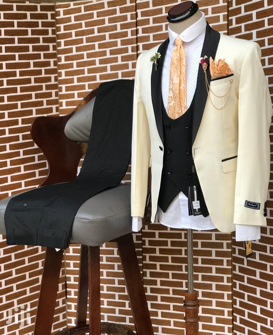 Men's Fashion Three Pieces Suit | Clothing for sale in Kinondoni, Dar es Salaam, Tanzania
