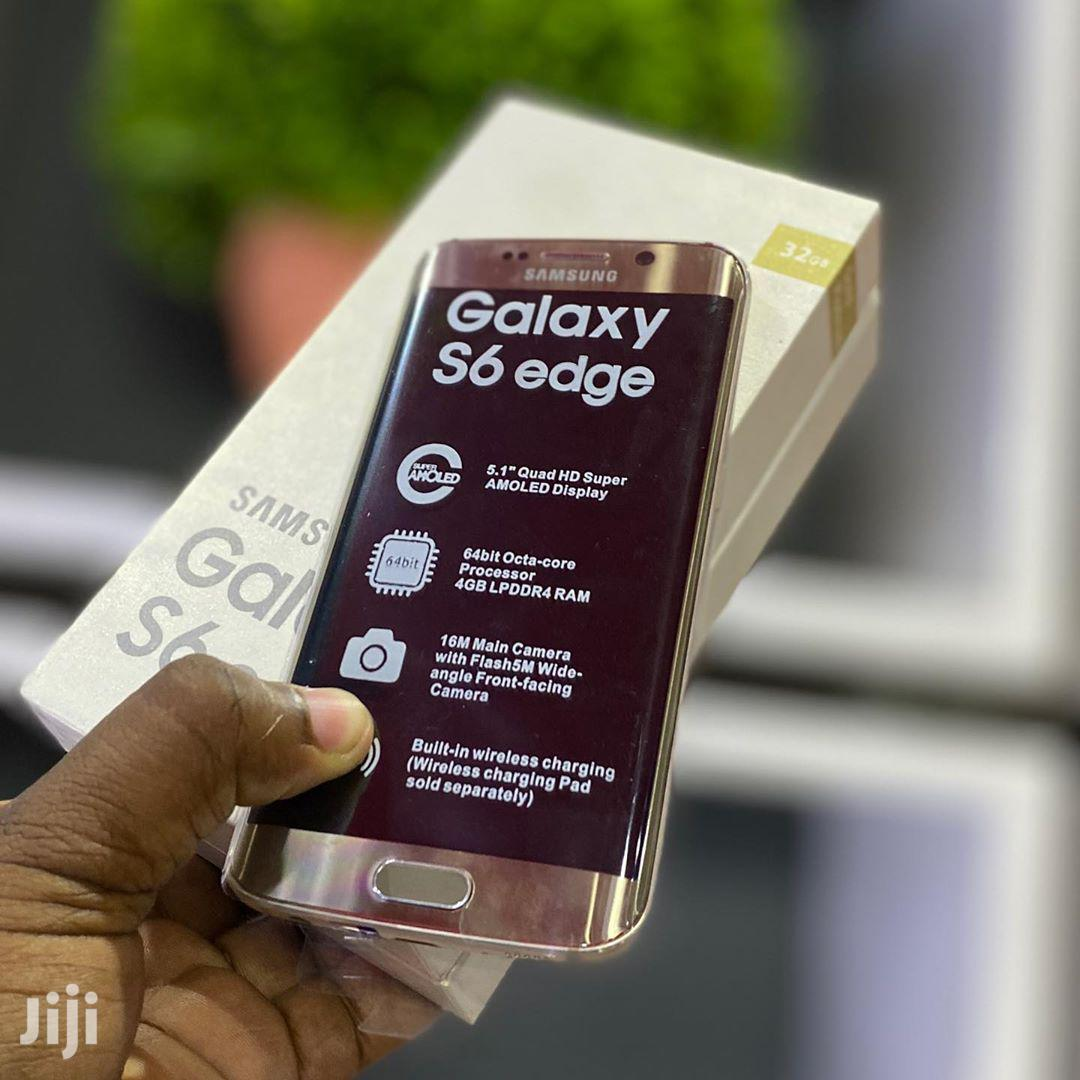 Archive: New Samsung Galaxy S6 edge 32 GB Gold