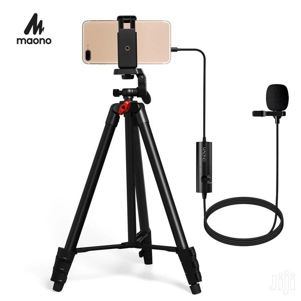 Archive: MAONO Lapel Microphone Mobile Microphone Kit