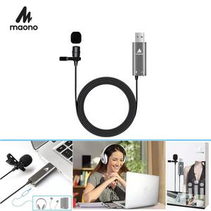 MAONO USB Lavalier Microphone Clip On Condenser Mic Lapel   Accessories & Supplies for Electronics for sale in Dar es Salaam, Kinondoni