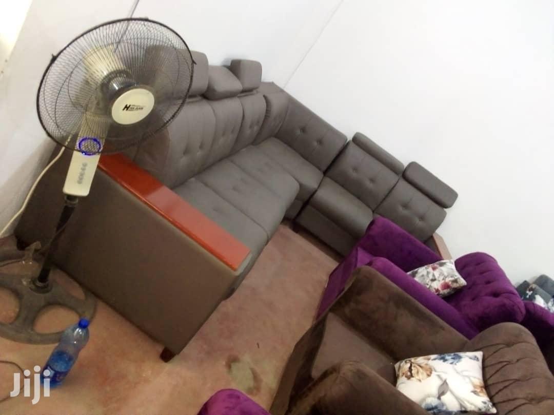 L-shape (6seat) | Furniture for sale in Kinondoni, Dar es Salaam, Tanzania