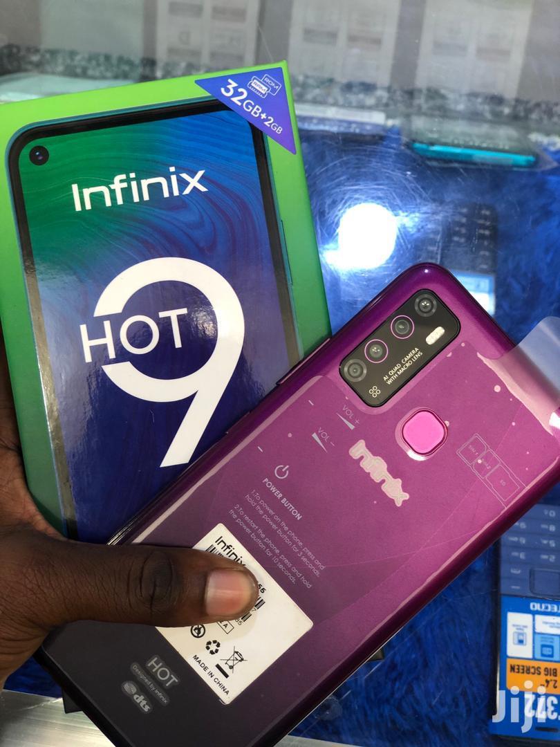 New Infinix Hot 9 32 GB Black   Mobile Phones for sale in Ilala, Dar es Salaam, Tanzania