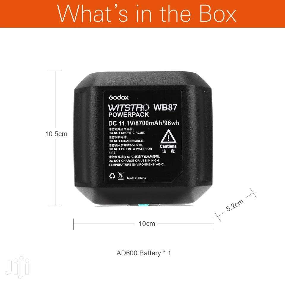 Godox WB87 Battery Pack 11.1V 8700mah For AD600BM   Accessories & Supplies for Electronics for sale in Kinondoni, Dar es Salaam, Tanzania