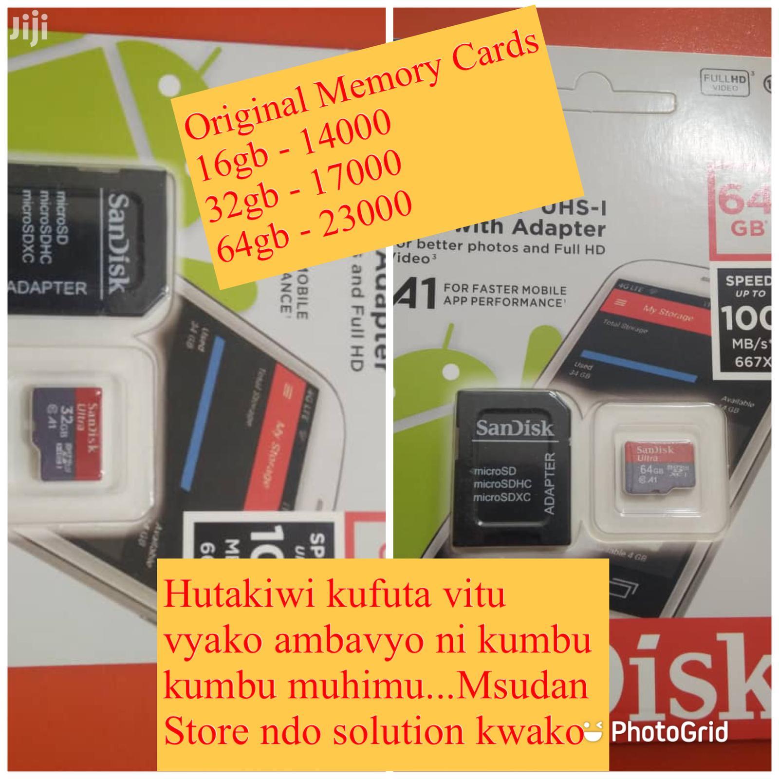 Original Memory Cards