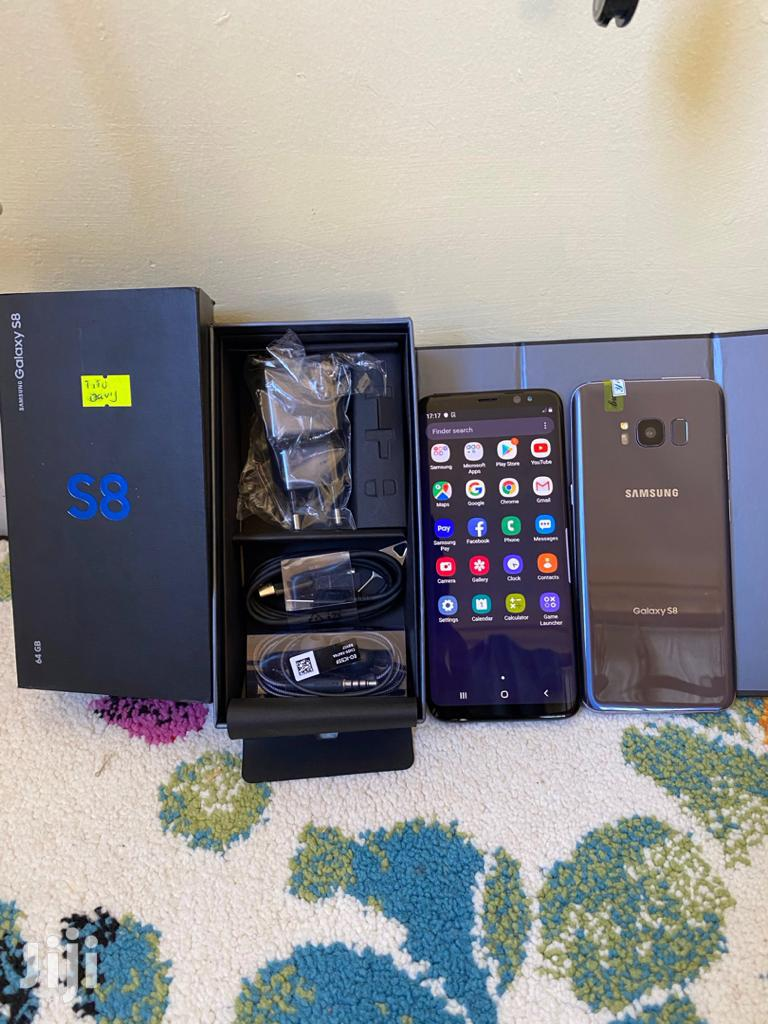 New Samsung Galaxy S8 64 GB Black | Mobile Phones for sale in Kinondoni, Dar es Salaam, Tanzania