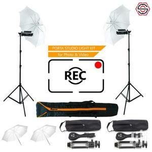 Simpex Pair Porta Umbrella Video Light | Accessories & Supplies for Electronics for sale in Dar es Salaam, Kinondoni
