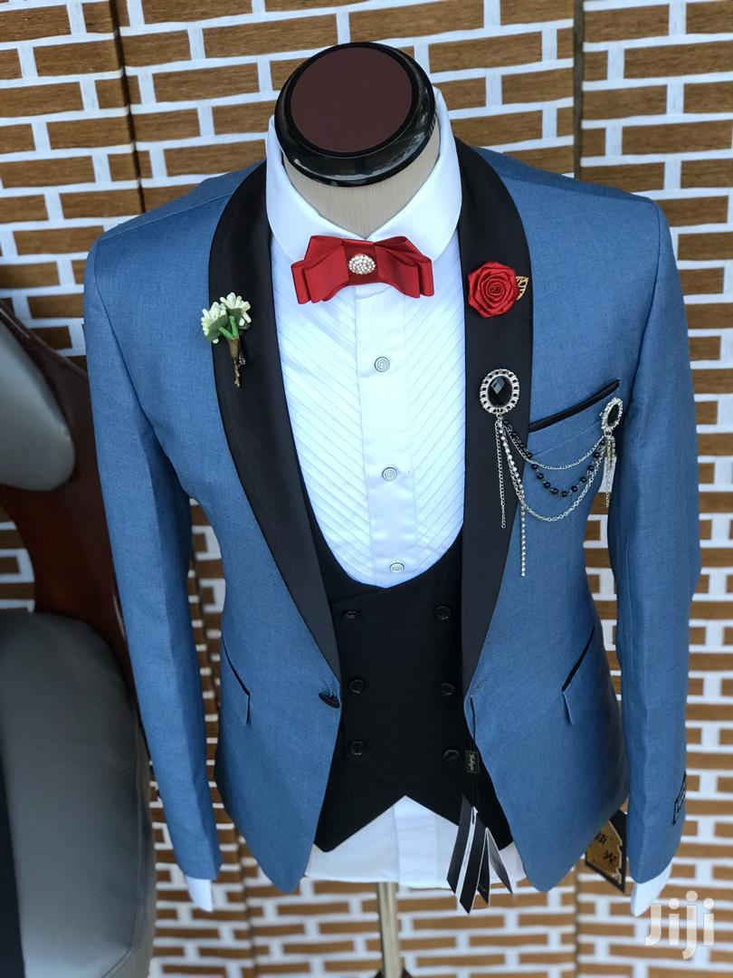 Men's Fashion Three Piece Suit | Clothing for sale in Kinondoni, Dar es Salaam, Tanzania