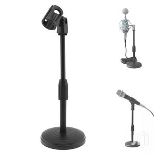 Portable Desktop Lifting Plastic Weight Disc Microphon Stand   Accessories & Supplies for Electronics for sale in Dar es Salaam, Kinondoni