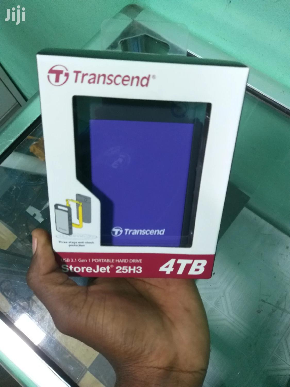4TB Trancend Genuine External HDD