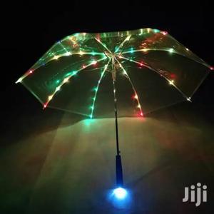 LED Luminous Transparent Umbrella Flashlight | Accessories & Supplies for Electronics for sale in Dar es Salaam, Kinondoni