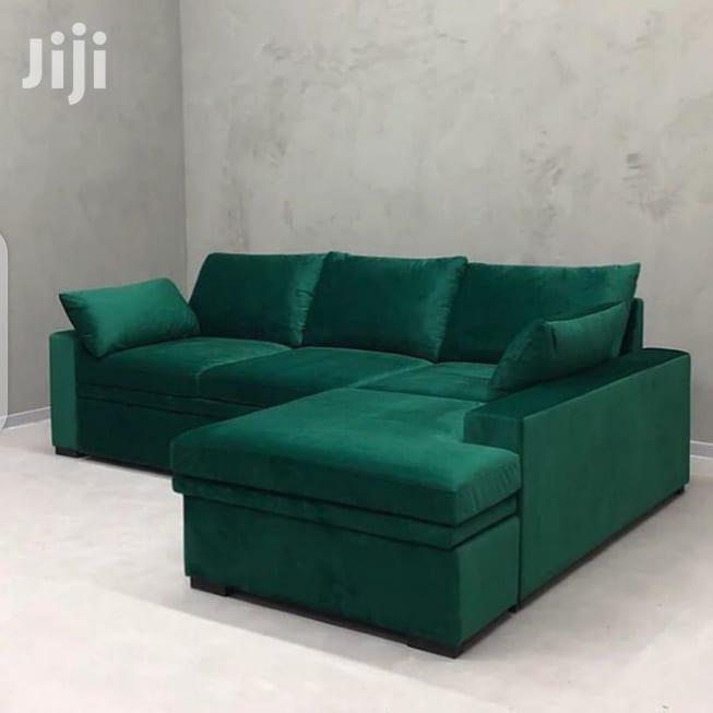 Green L-SHAPE Design (Four Seat)