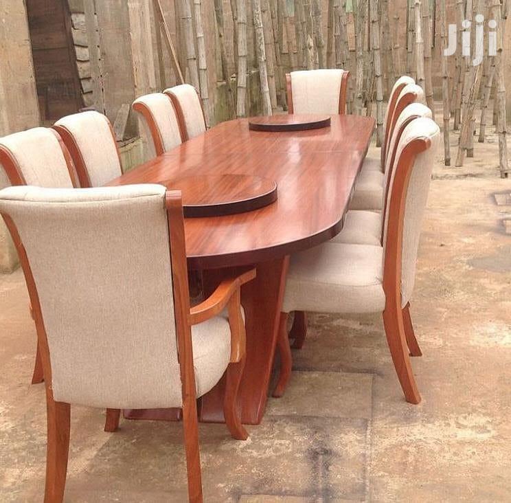 Dinning Table (Viti 8-Mkongo Wood )