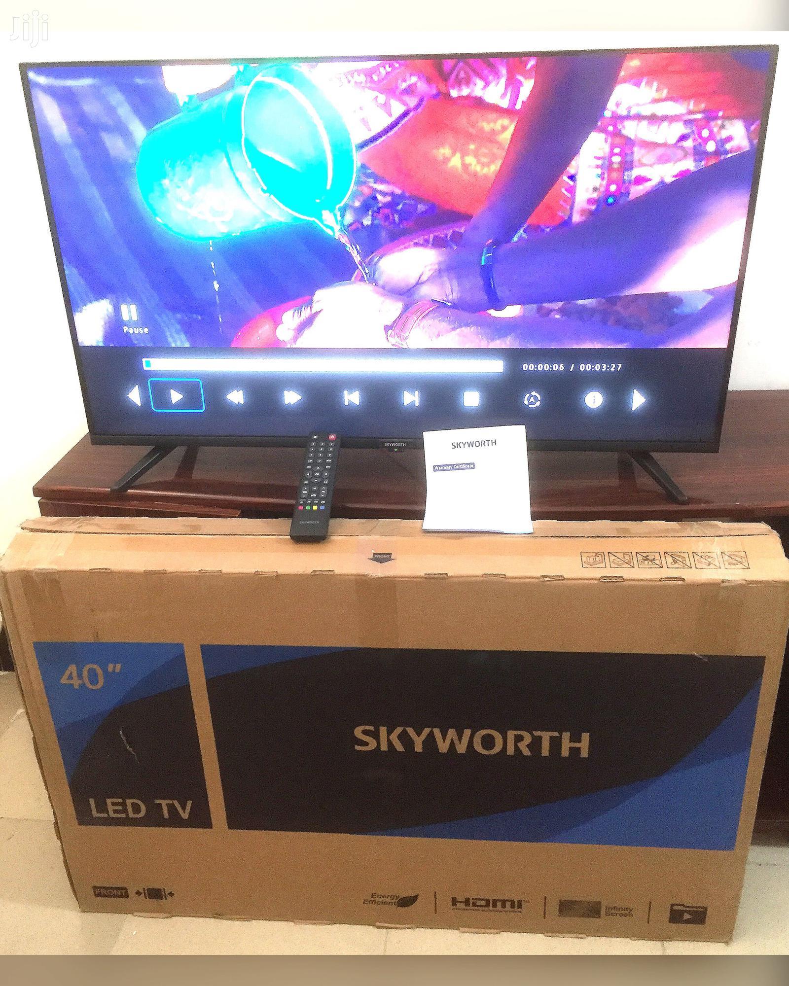 "Skyworth 40"" LED TV | TV & DVD Equipment for sale in Ilala, Dar es Salaam, Tanzania"