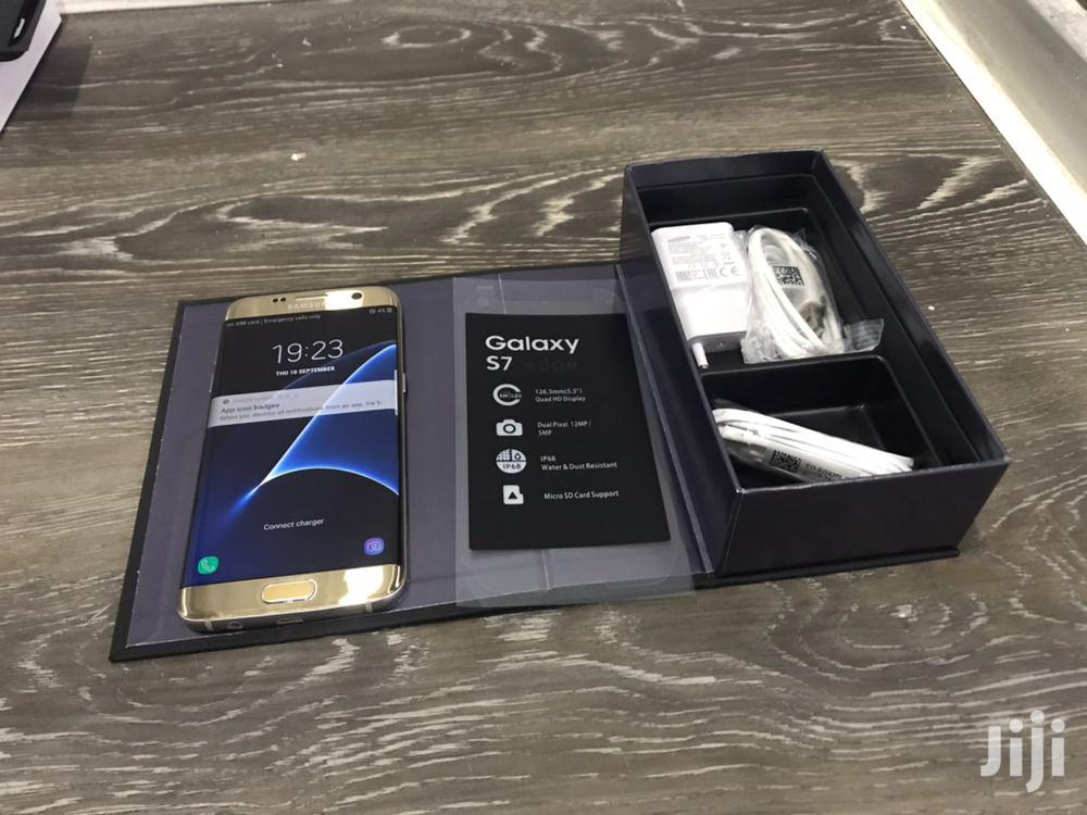 New Samsung Galaxy S7 edge 32 GB Gold | Mobile Phones for sale in Ilala, Dar es Salaam, Tanzania