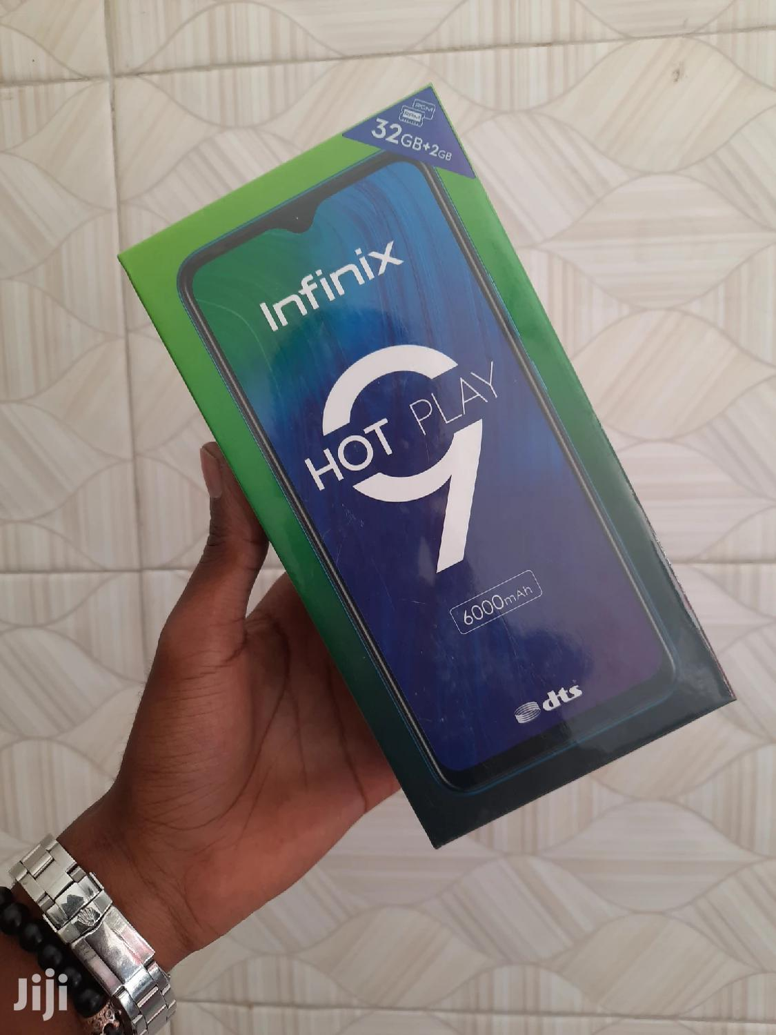 New Infinix Hot 9 Play 32 GB Black