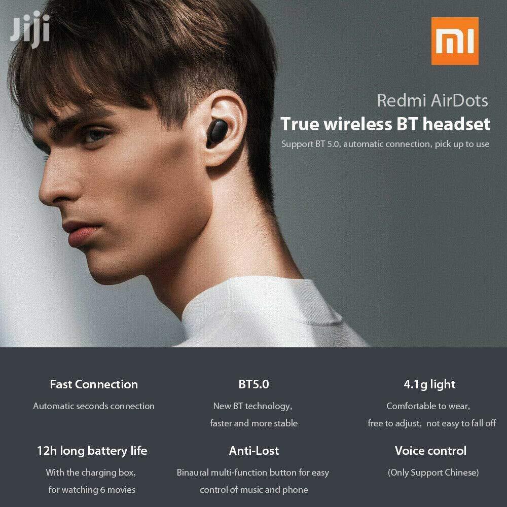 Xiaomi Redmi Airdots TWS Bluetooth Earbuds Earphone | Headphones for sale in Ilala, Dar es Salaam, Tanzania