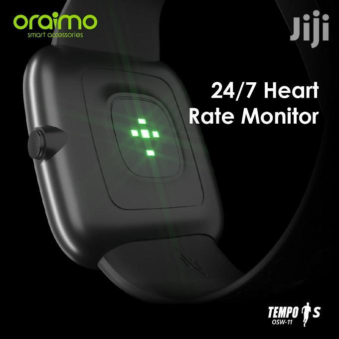 Oraimo Tempo-s IP67 Waterproof Smart Watch | Smart Watches & Trackers for sale in Ilala, Dar es Salaam, Tanzania