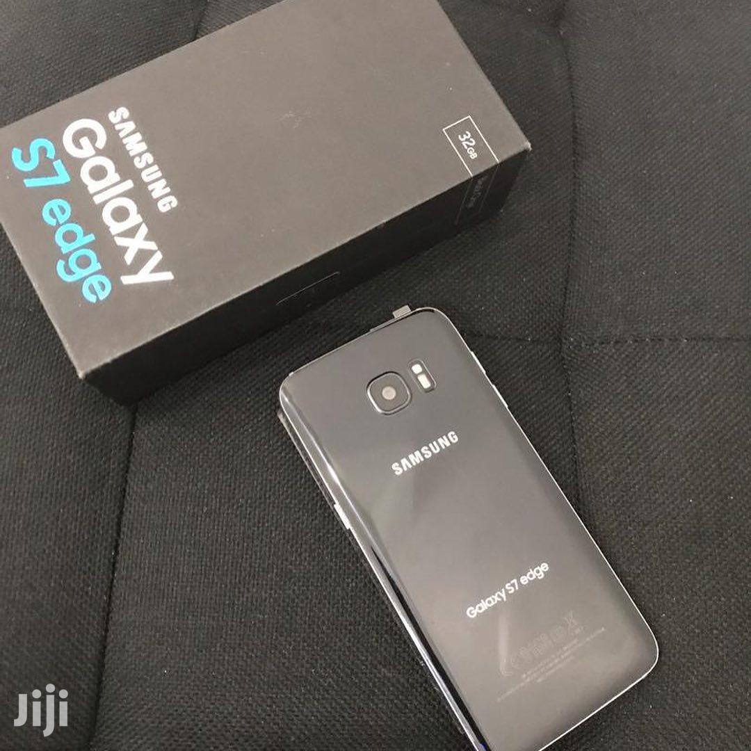 New Samsung Galaxy S7 edge 32 GB Black | Mobile Phones for sale in Kinondoni, Dar es Salaam, Tanzania