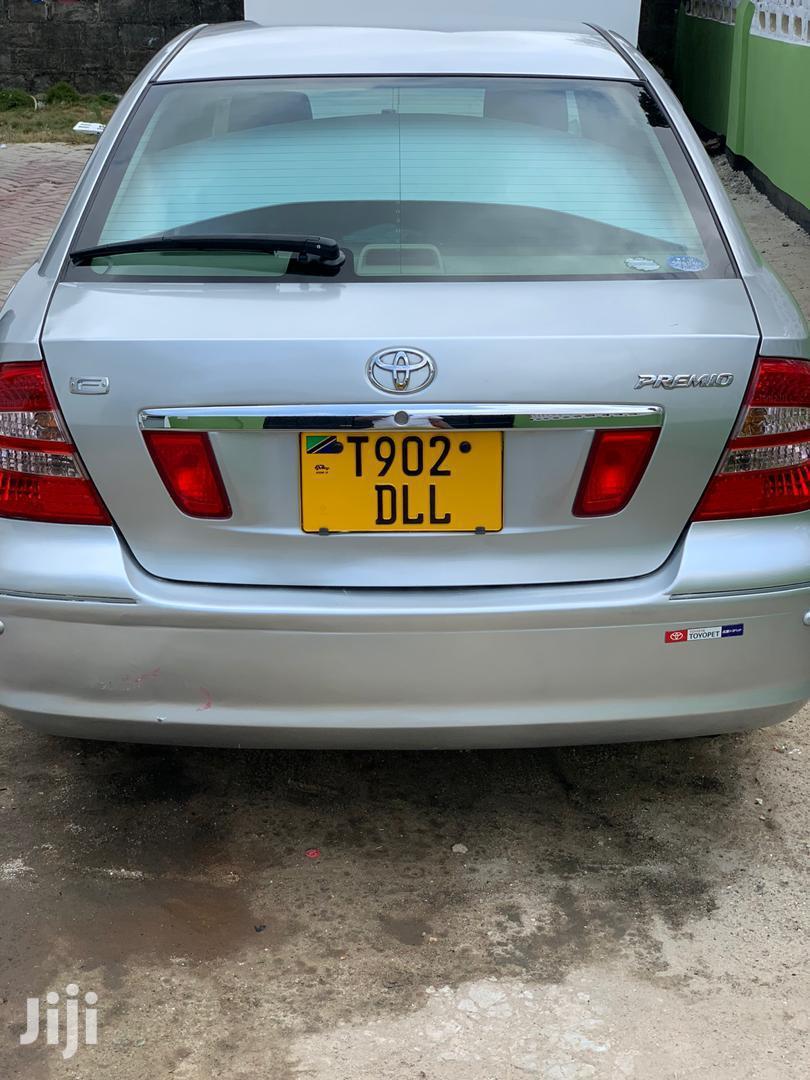 Toyota Premio 2004 Silver   Cars for sale in Kinondoni, Dar es Salaam, Tanzania