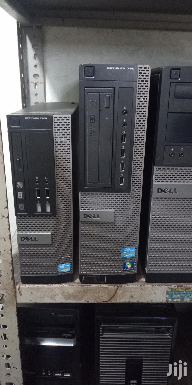 Desktop Computer Dell OptiPlex 7050 4GB Intel Core i3 HDD 500GB | Laptops & Computers for sale in Ilala, Dar es Salaam, Tanzania