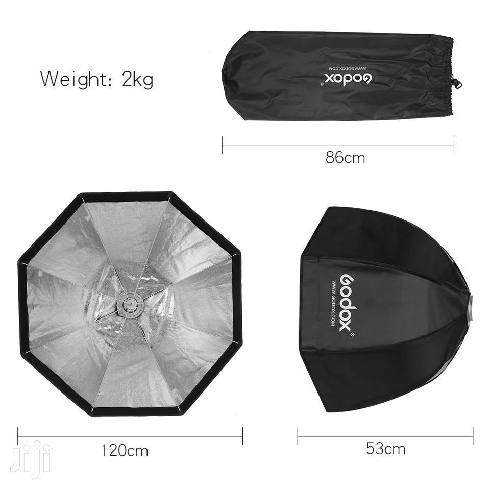 Archive: Godox Octagon Softbox 120cm, Umbrella Bowens Mount