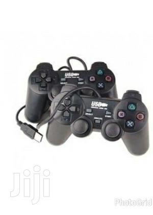Twin Usb Game Pad for Pc | Accessories & Supplies for Electronics for sale in Dar es Salaam, Ilala