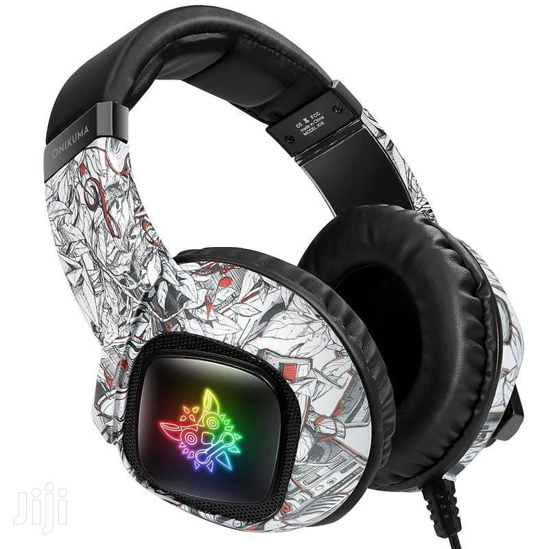 ONIKUMA K19 RGB Gaming Headphone Stereo Noise Reduction | Headphones for sale in Ilala, Dar es Salaam, Tanzania