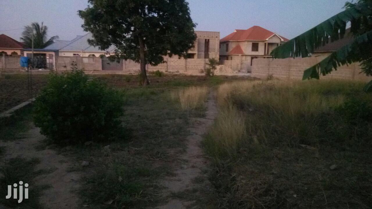 Archive: Land For Sale At MBWENI