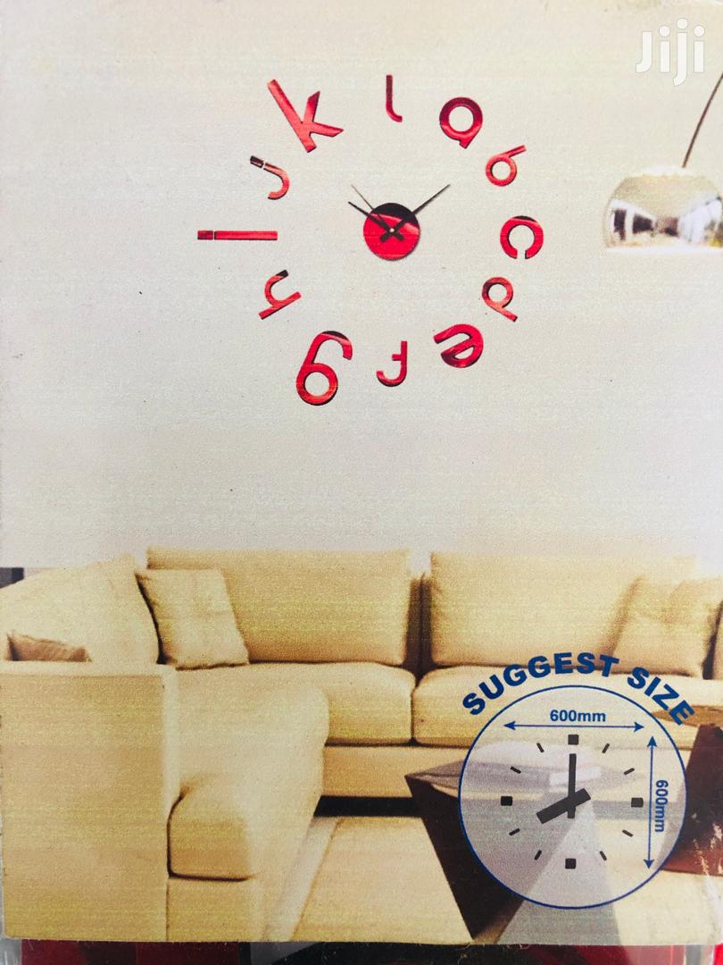 Large Wall Clocks 3D Diy Acrylic