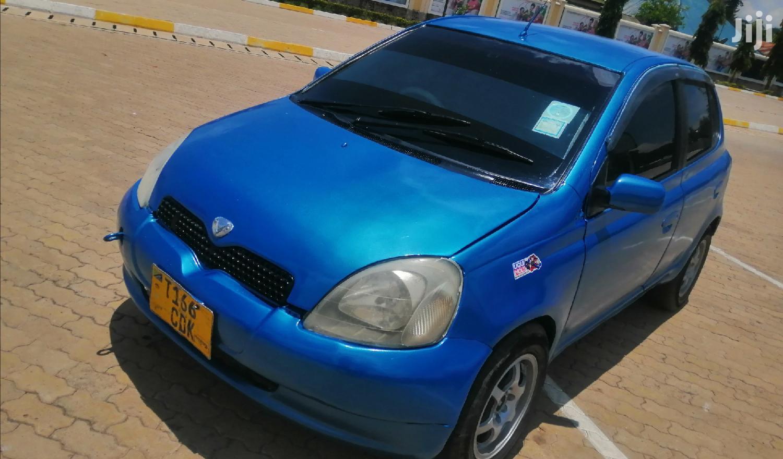Toyota Vitz 2001 Blue | Cars for sale in Ilemela, Mwanza Region, Tanzania
