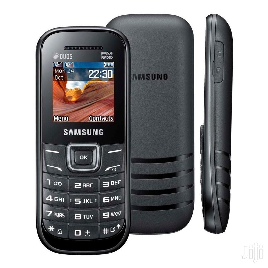 Samsung Keystone 2 E1205 Unlocked GSM Phone - Black