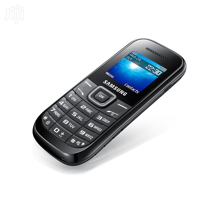 Samsung Keystone 2 E1205 Unlocked GSM Phone - Black | Accessories for Mobile Phones & Tablets for sale in Ilala, Dar es Salaam, Tanzania