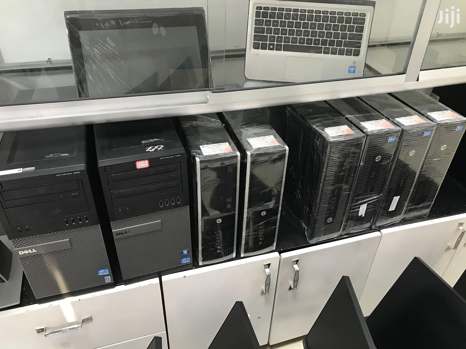 Desktop Computer HP EliteDesk 800 4GB Intel Core I7 HDD 320GB | Laptops & Computers for sale in Ilala, Dar es Salaam, Tanzania