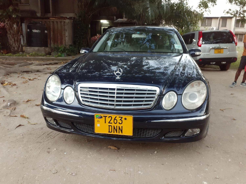 Mercedes-Benz E240 2002 Black | Cars for sale in Kinondoni, Dar es Salaam, Tanzania