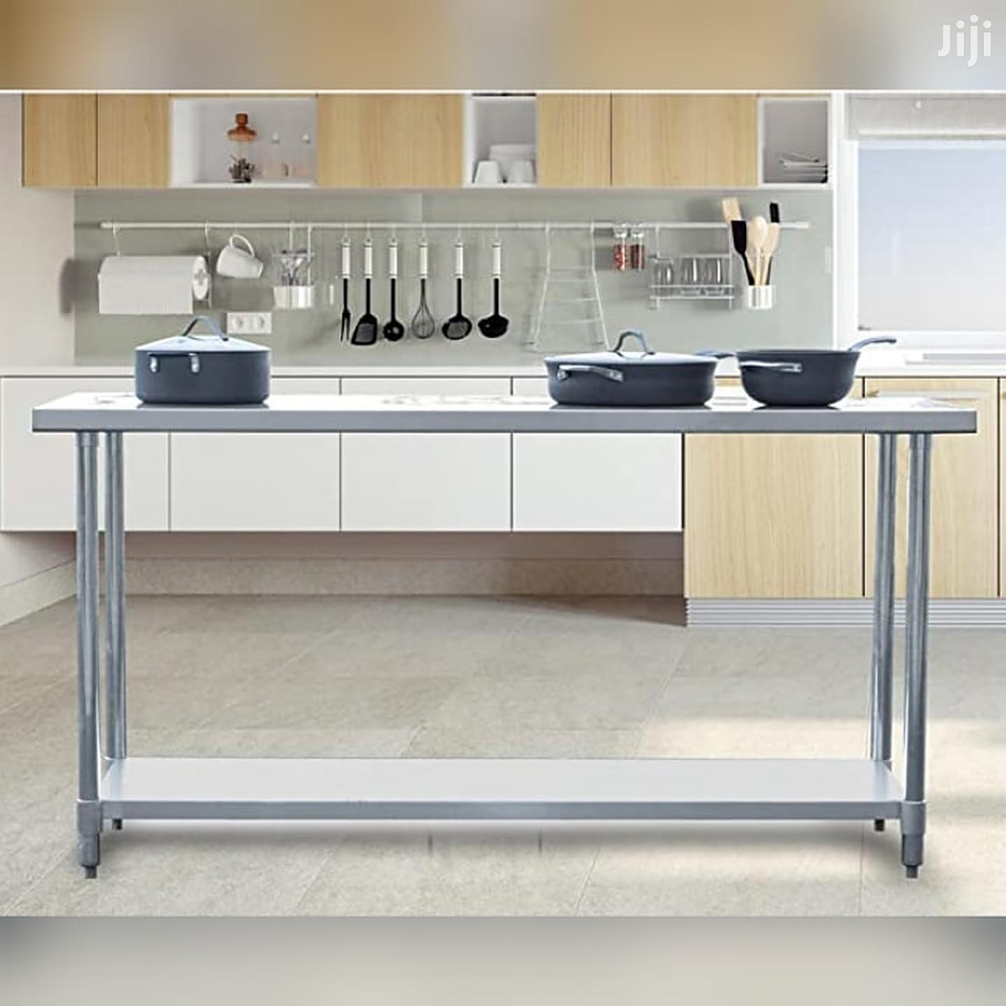 Stainless-steel Commercial Kitchen Work Table