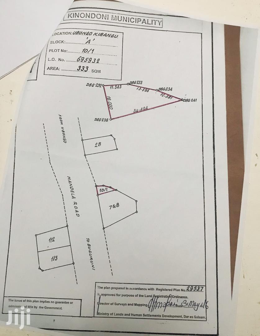 Plot for Sale at Ubungo Riverside Along Mandela Road | Land & Plots For Sale for sale in Kinondoni, Dar es Salaam, Tanzania
