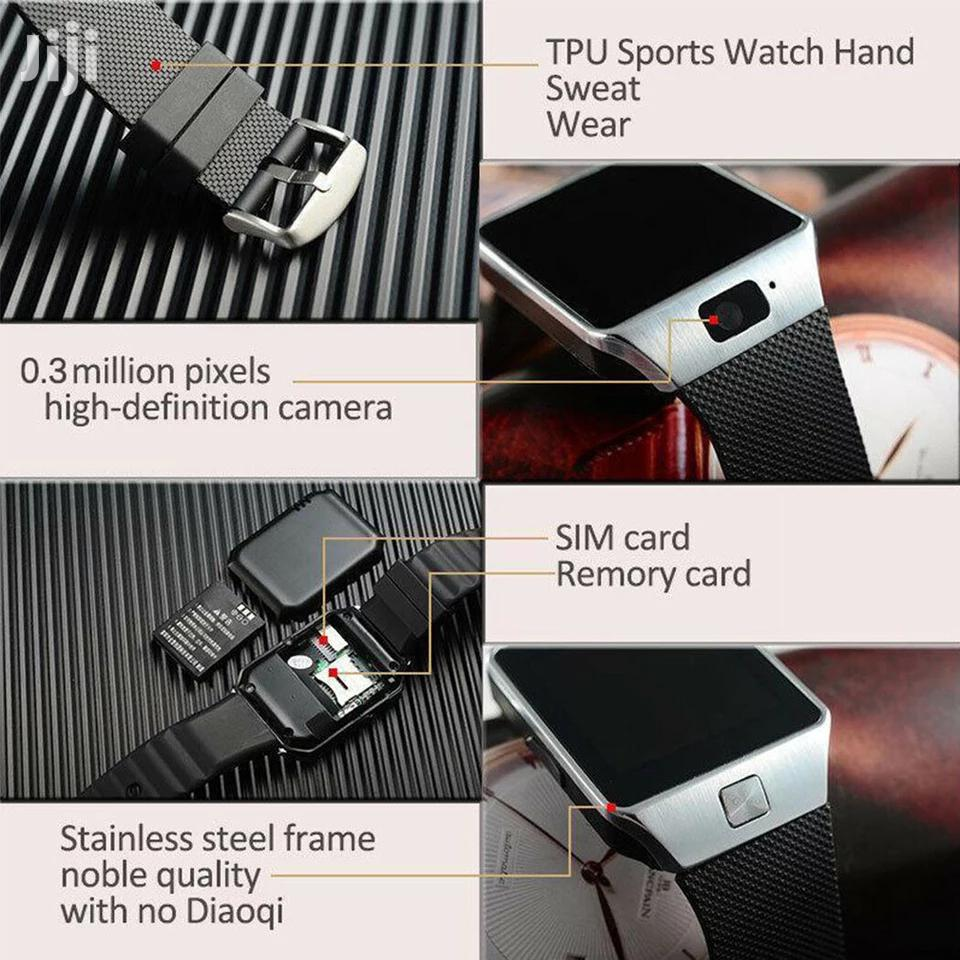Archive: DZ09 Smart Watch For Apple Android Phone Support SIM