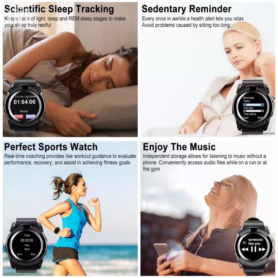 V8 Smart Watch | Smart Watches & Trackers for sale in Ilala, Dar es Salaam, Tanzania