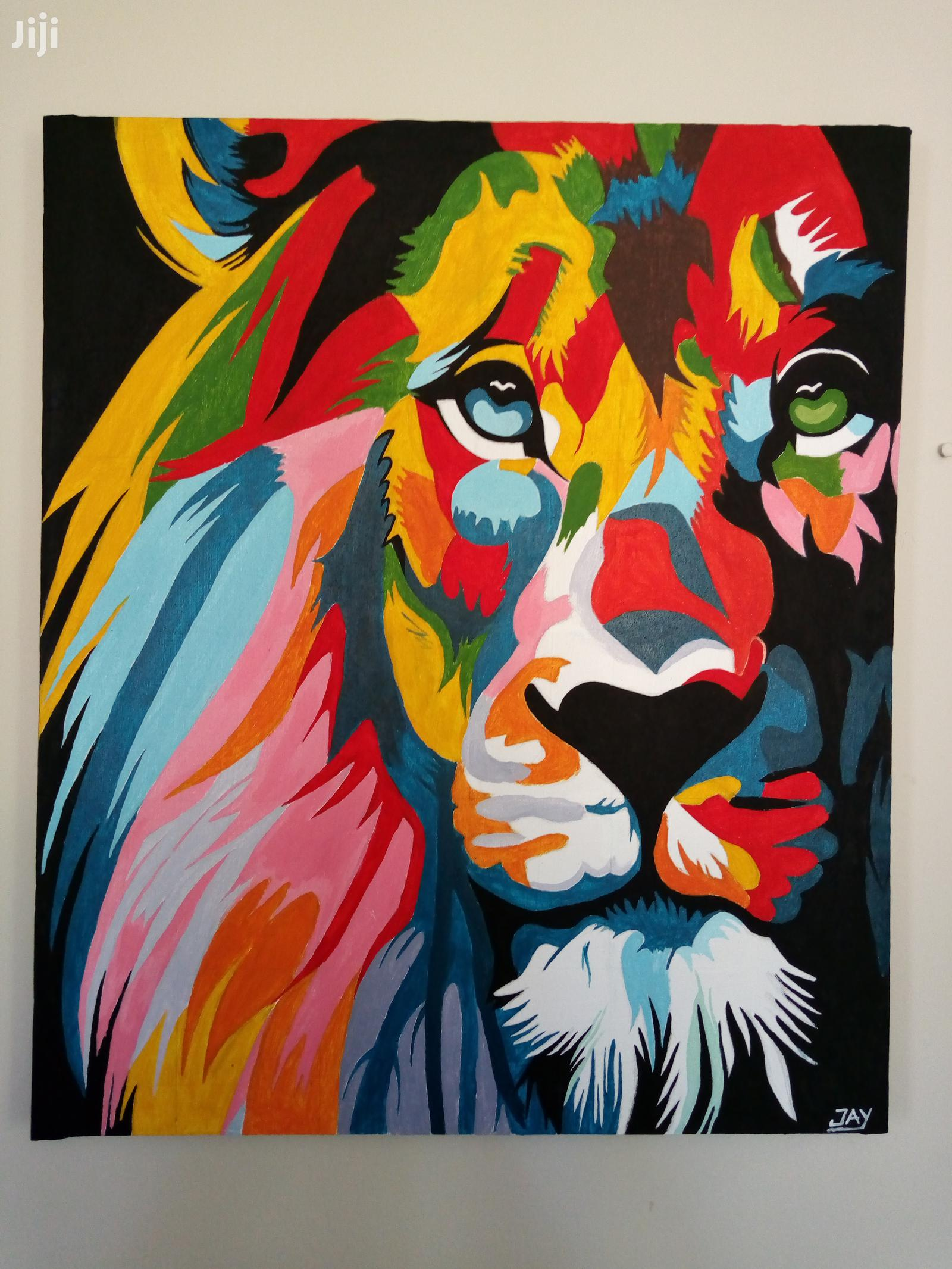Gazing Lion