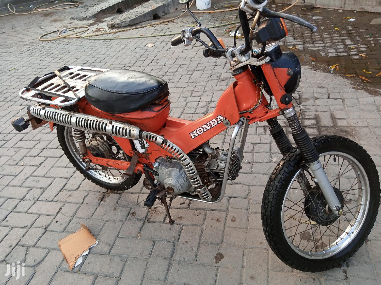 Honda CG110 1985 Orange
