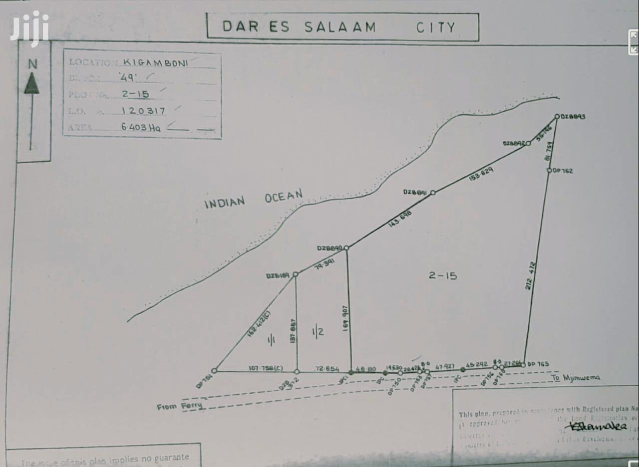 Town 75,000sqm Beach Side Plots in Dar-Es-Salaam, Tanzania | Land & Plots For Sale for sale in Kigamboni, Temeke, Tanzania